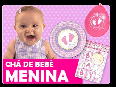 Chá de Bebê Menina