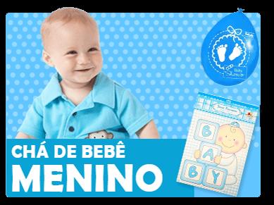 Chá de Bebê Menino
