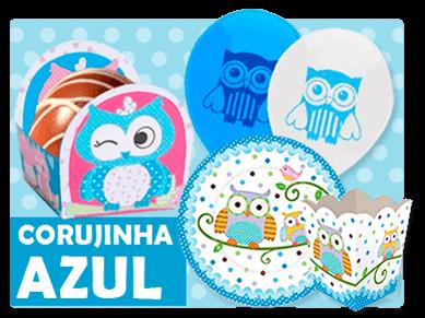 Corujinha Azul