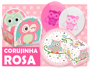 Corujinha Rosa