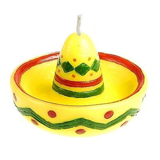 Vela Sombrero para Festa Mexicana