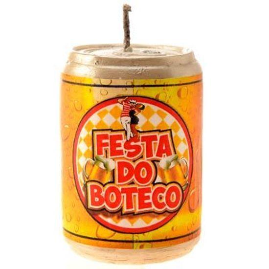 Vela Latinha de Cerveja - Festa Boteco