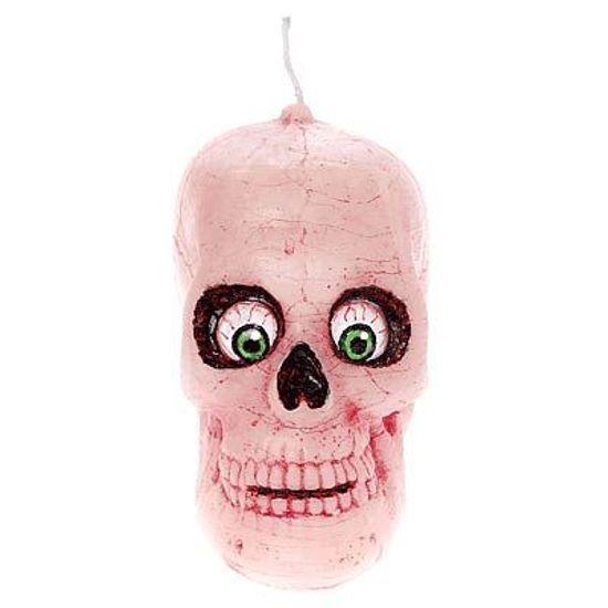Vela Halloween Crânio Olhos Esbugalhados