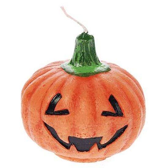 Vela Halloween Cabeça de Abóbora