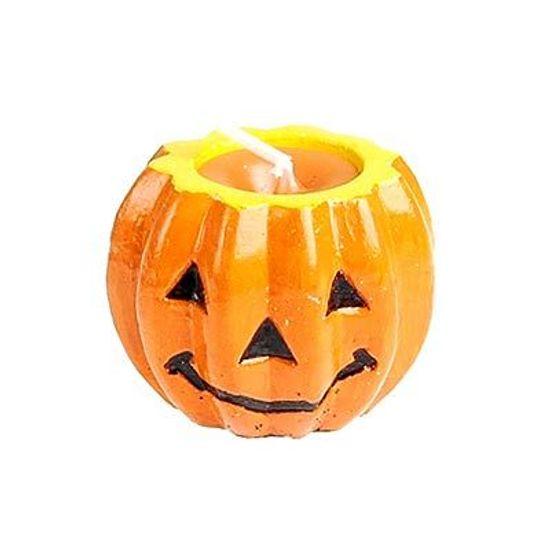 Vela Halloween Abóbora Pequena