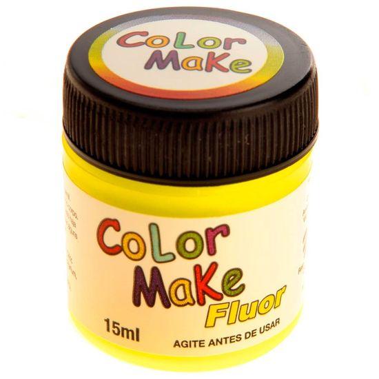 Tinta Líquida Neon Amarelo - 15ml