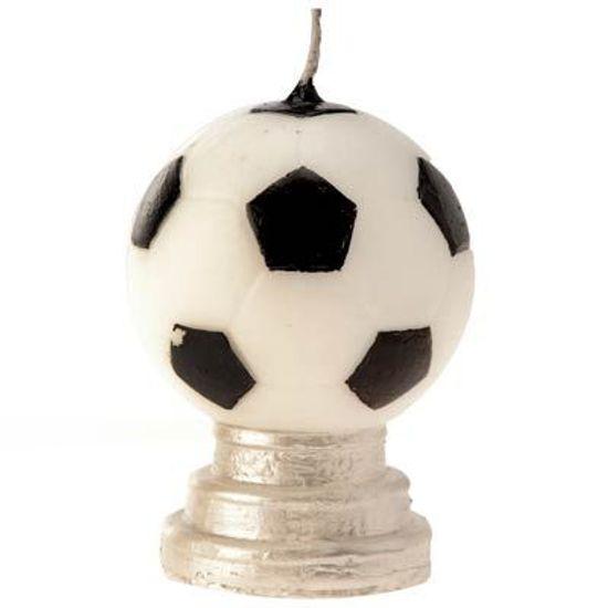 Vela Futebol Preto e Branco