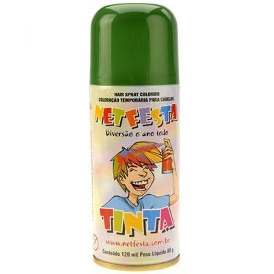 Tinta da Alegria para Cabelos Spray - Verde