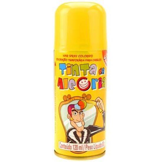 Tinta da Alegria para Cabelos Spray - Amarelo