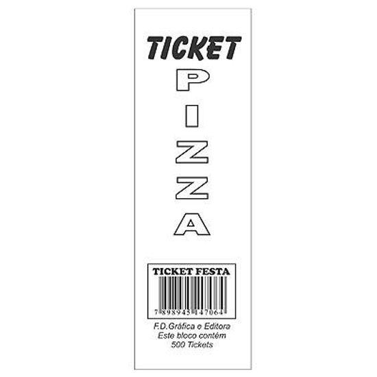Ticket para Barraca de Festa - Pizza - C/1000