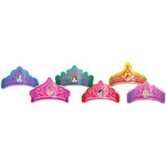 Tiara Coroa de Papel Princesas Debut 06 Un