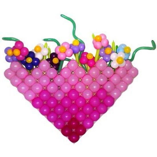 Tela Plástica QUADRADA para Balões - 15 Un
