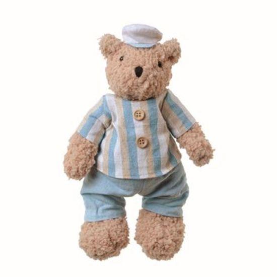 Teddy Urso Masculino Azul (20cm)