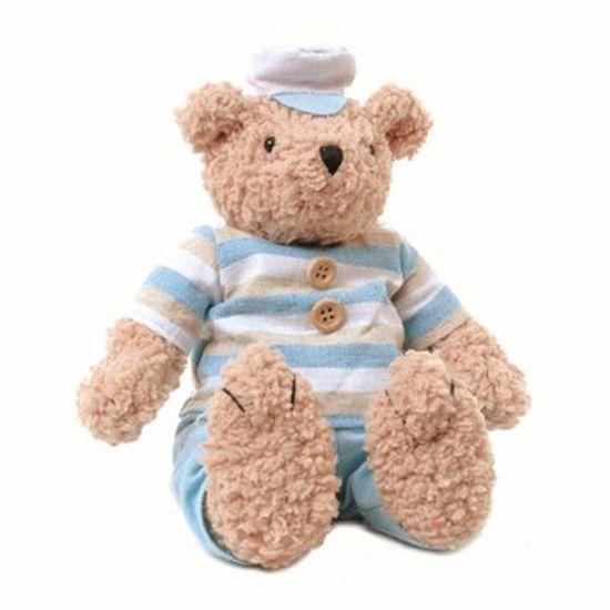 Teddy Urso M Lt Azul 20 cm - UNITÁRIO