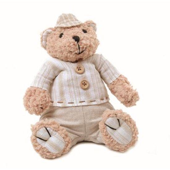 Teddy Urso M Bege 20 cm - UNITÁRIO