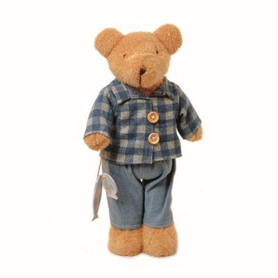Teddy Urso M Azul 30cm