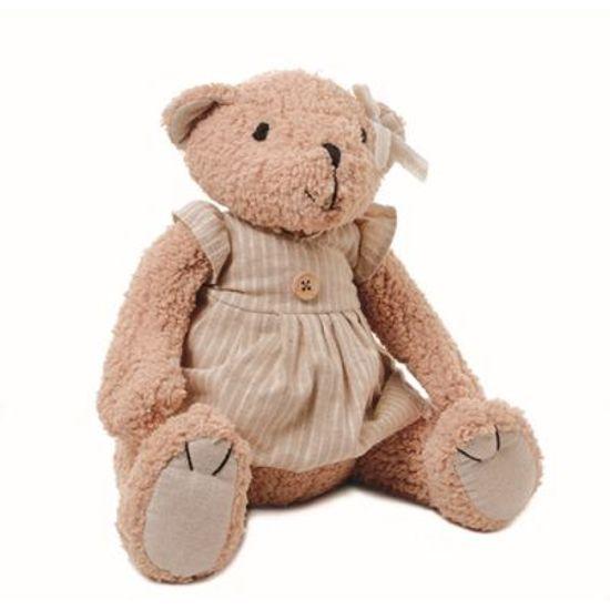 Teddy Urso Pelúcia F Bege (15cm)