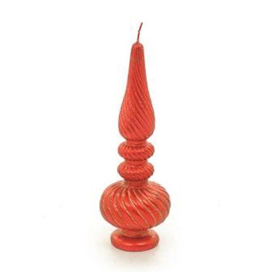 Vela Vermelha (Velas de Natal) - 2 Jogos com 2 Peças
