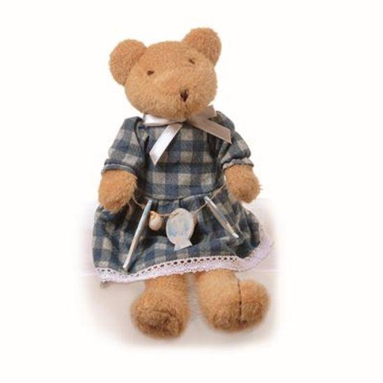 Teddy Urso F Azul 20 cm - UNITÁRIO