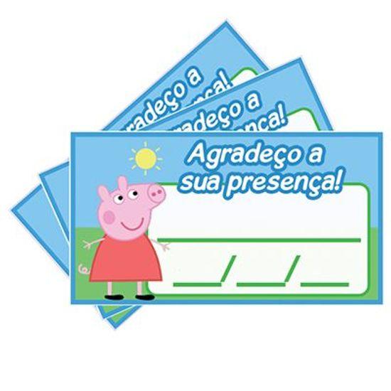 Tags SEM Furo Peppa Pig - 15 Un