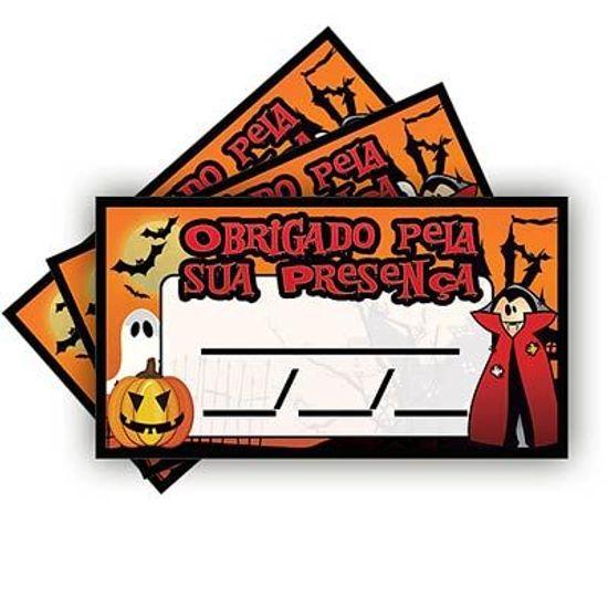 Tags SEM Furo Halloween Abóbora - 15 Un