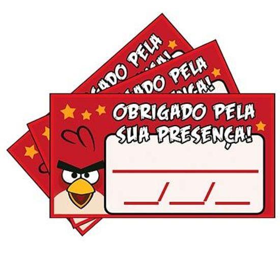 Tags SEM Furo Angry Birds - 15 Un