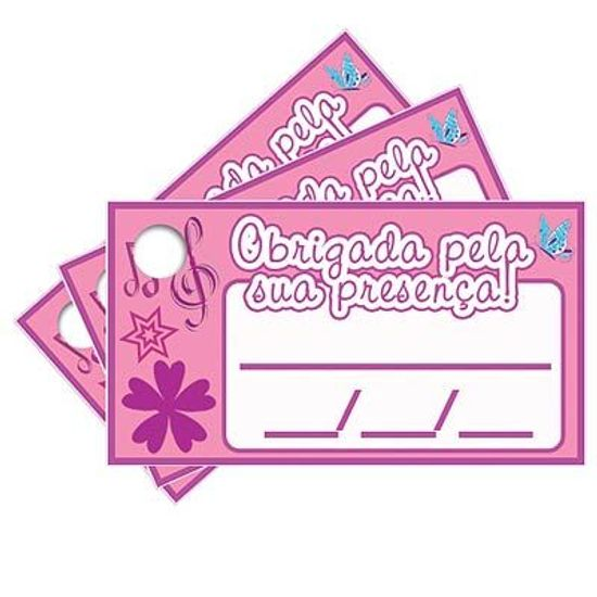 Tags com Furo Violetta Disney - 15 Un