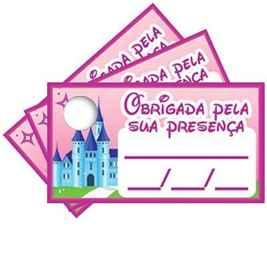 Tags com Furo Princesas - 15 Un