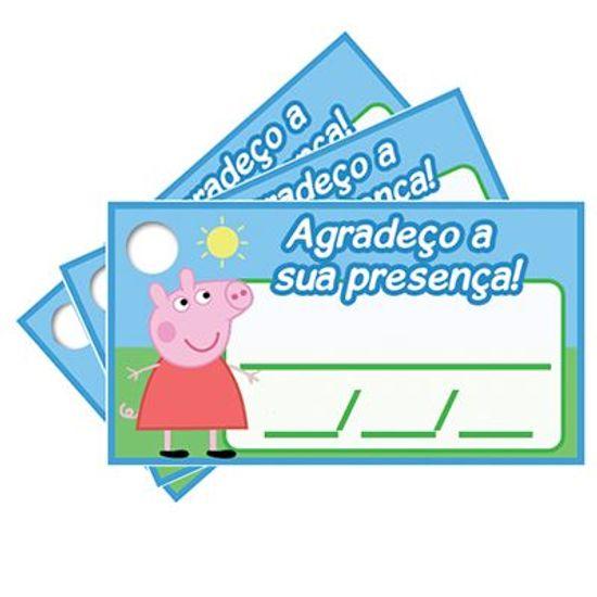 Tags com Furo Peppa Pig - 15 Un