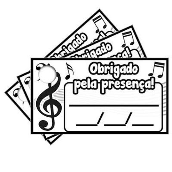 Tags com Furo Notas Musicais - 15 Un