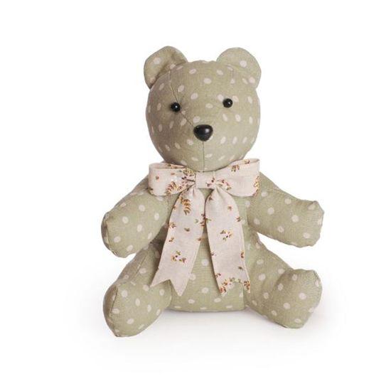 Urso Poá Verde Claro e Bege ( Marzipan ) - 4 Un