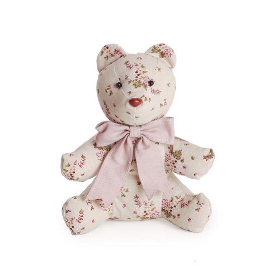 Maçã Do Amor Urso Florido Laço Roxo - 2 Un