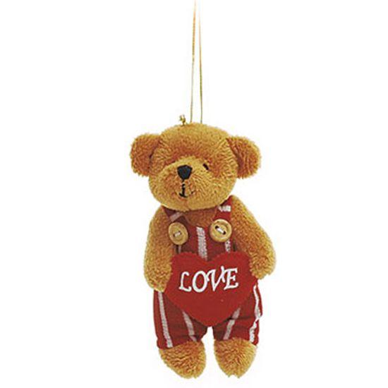 Urso Macacão Listrado ( Romântica ) - 6 Un