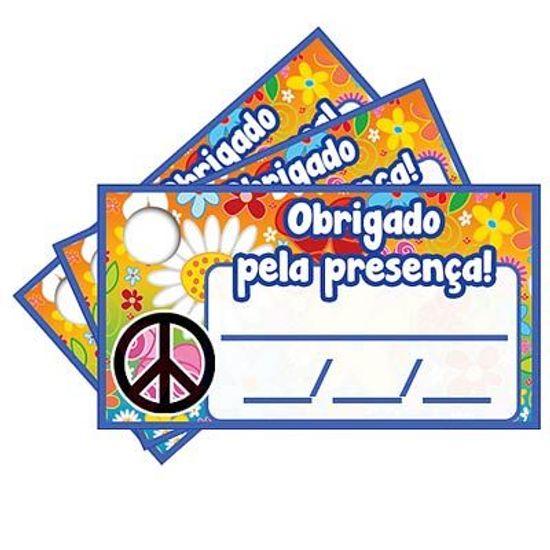 Tags com Furo Hippie - 15 Un