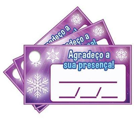 Tags com Furo Frozen - 15 Un