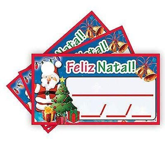 Tags com Furo Feliz Natal - 15 Un
