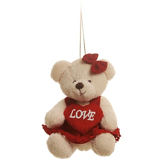 Ursa Vestido Vermelho ( Romântica ) - 6 Un