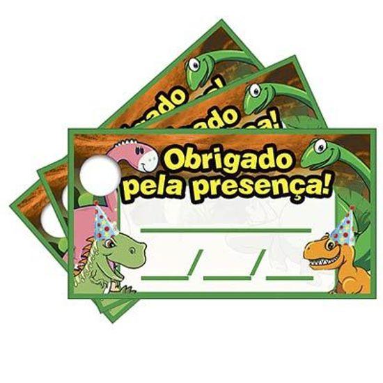 Tags com Furo Dinossauros - 15 Un