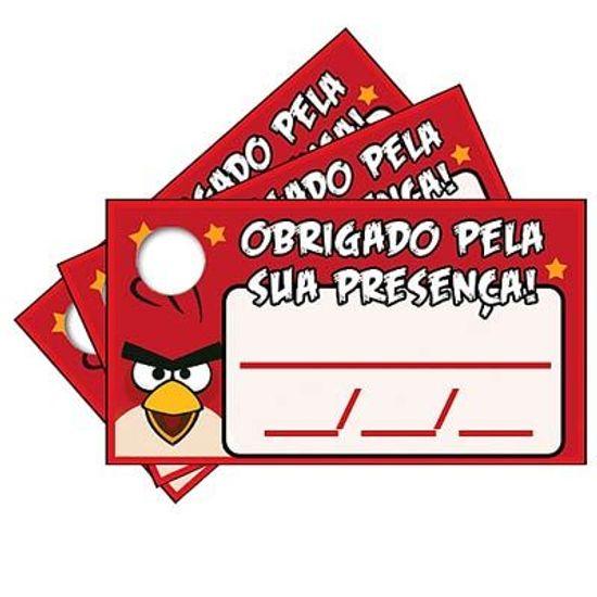 Tags com Furo Angry Birds - 15 Un