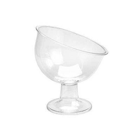 Taça Inclinada para Guloseimas Pequena - Cristal