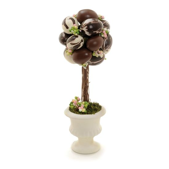 Charlotte Topiaria Redonda Ovos Chocolate