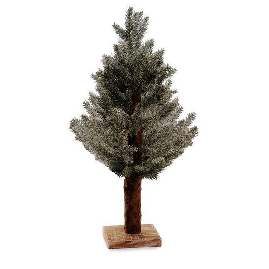 Árvore de Natal Pequena - Topiaria Nevado Verde 48cm