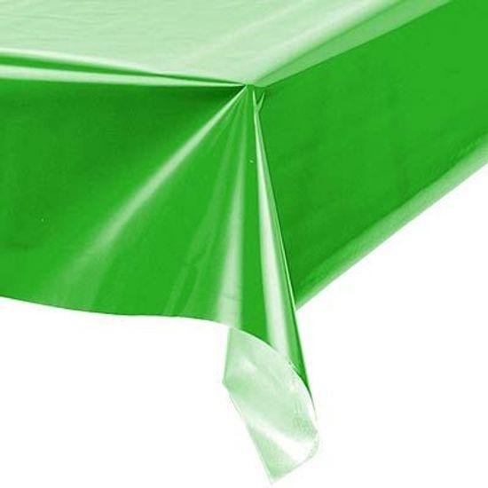 Toalha Plástica Perolada Liso Verde Escuro - 10 Un