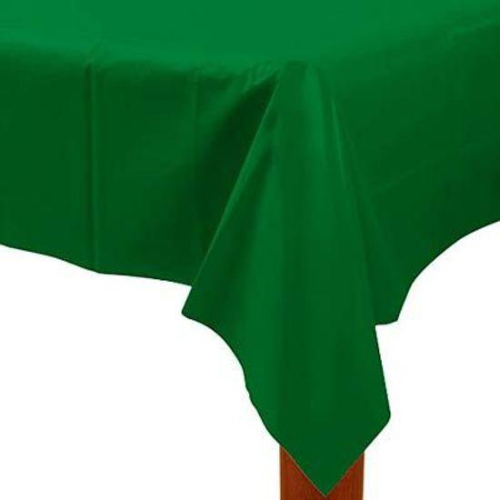 Toalha de Mesa Retangular Colorline Verde 1.37x2.74m