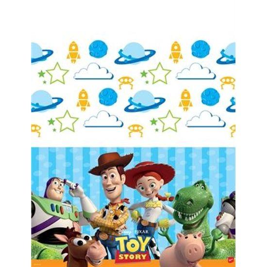 Toalha de Mesa Descartável Toy Story no Espaço