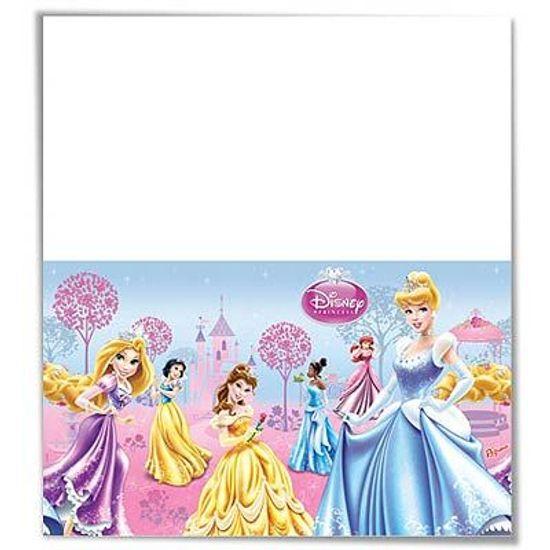 Toalha de Mesa Descartável Princesas Glamour
