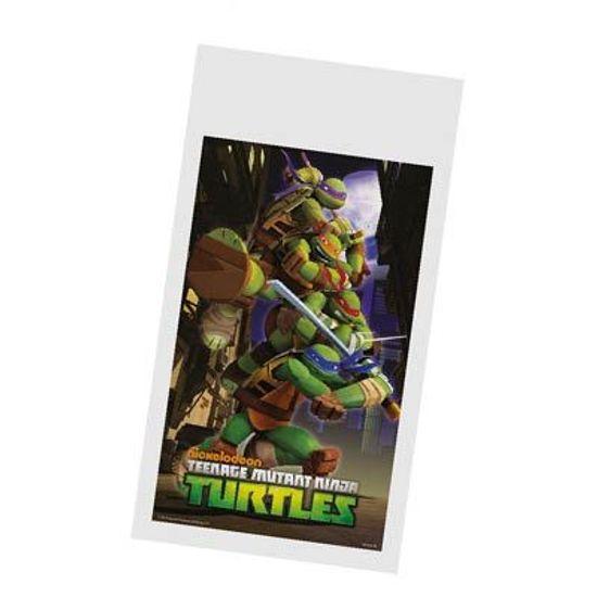 Sacola Plástica Tartarugas Ninjas - 08 Un