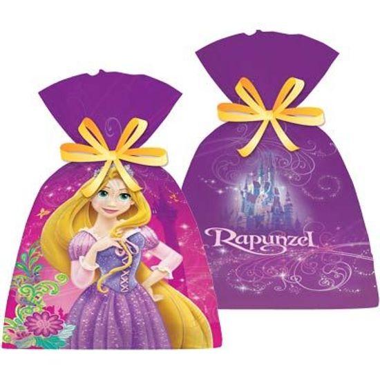 Sacola Plástica Rapunzel Disney - 08 Un