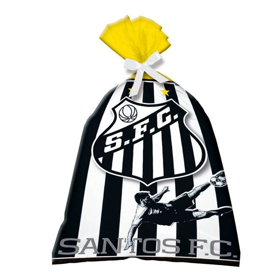 Sacola Plástica Santos F. C. - 08 Un