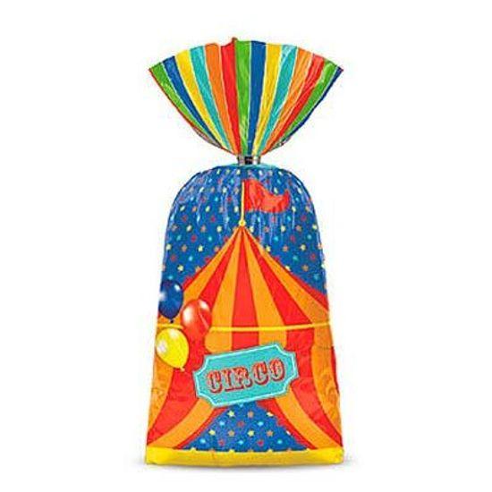 Circo - Sacola Plástica 08 Un